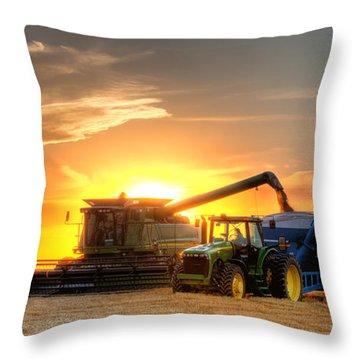 Plains Throw Pillows