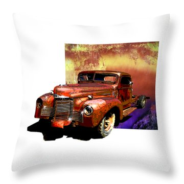 The Harvester Throw Pillow
