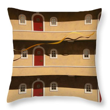 The Hasty One Throw Pillow