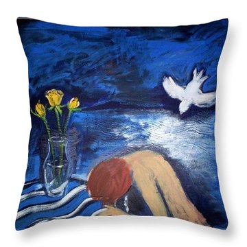 The Healing Throw Pillow