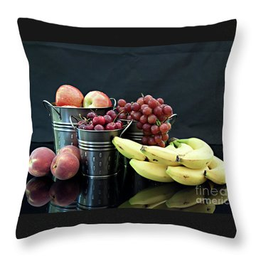 The Healthy Choice Selection Throw Pillow