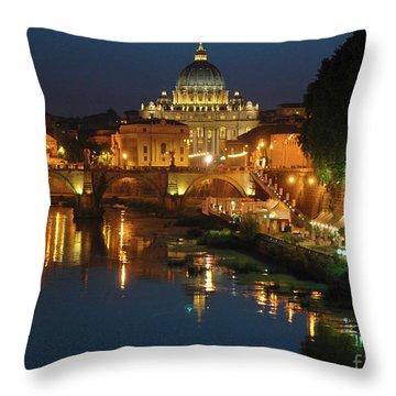 Eternal Sound Of Rome Throw Pillow