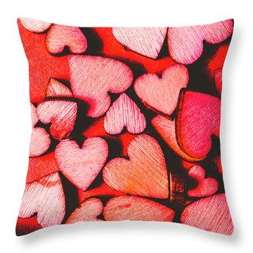 The Heart Of Decor Throw Pillow