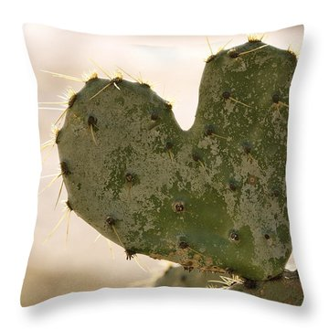 Throw Pillow featuring the photograph The Heart Of Texas by Debbie Karnes