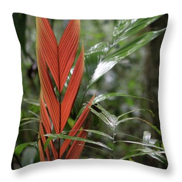 The Heart Of The Amazon Throw Pillow