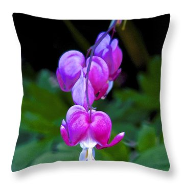 The Heart That Bleeds Throw Pillow