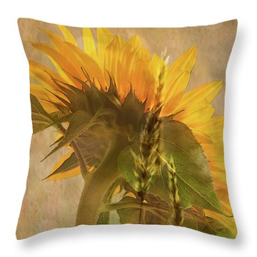 The Heat Of Summer Throw Pillow