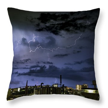 The Heavens Attack Throw Pillow