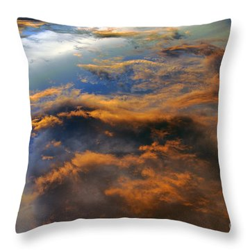 The Heavens Declare #2 Throw Pillow by Lydia Holly