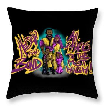 The Hebrew Family2016 Throw Pillow