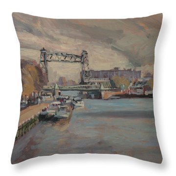 The Hef Rotterdam Throw Pillow