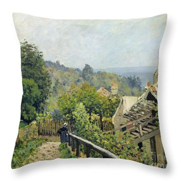 The Heights At Marly Throw Pillow