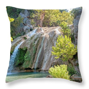 The Hidden Pearl Throw Pillow