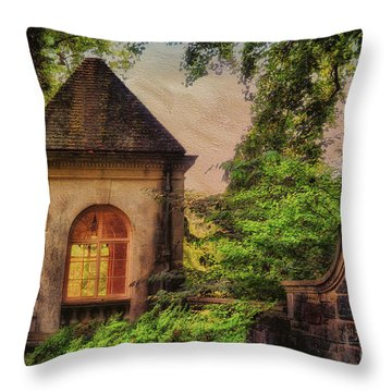 The Hideaway Throw Pillow by Lois Bryan