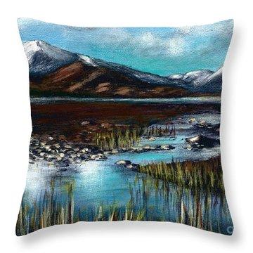 The Highlands - Scotland Throw Pillow