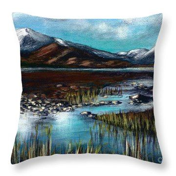 The Highlands - Scotland Throw Pillow
