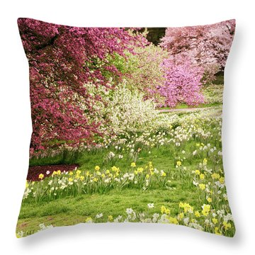 Throw Pillow featuring the photograph The Hills Are Alive by Jessica Jenney