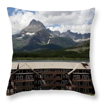 The Hills Are Alive Throw Pillow by Lorraine Devon Wilke