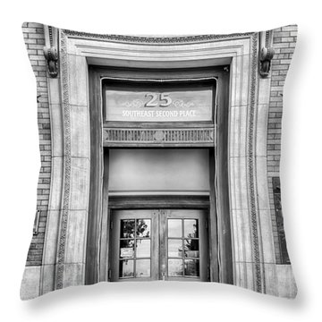 Throw Pillow featuring the photograph The Hippodrome  by Howard Salmon