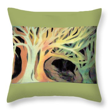 The Hollow Throw Pillow