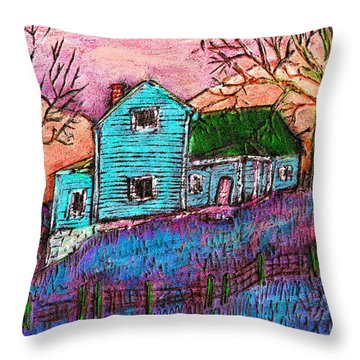 The Homestead I Throw Pillow