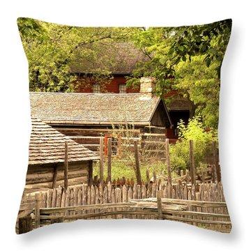 The Homestead Throw Pillow by Ian  MacDonald