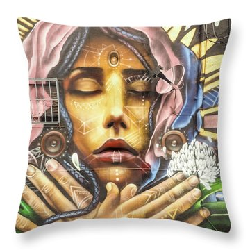 The Hope Of Sorrow Throw Pillow