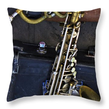 The Horns Throw Pillow
