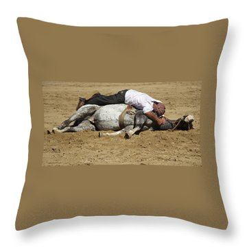 The Horse Whisperer Throw Pillow by Venetia Featherstone-Witty