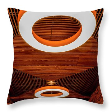 The House Of O Throw Pillow