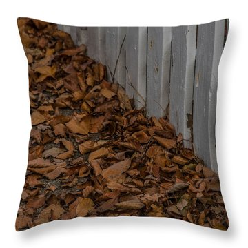 Throw Pillow featuring the photograph The House Where You Lived by Odd Jeppesen