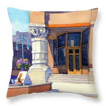 The Hudson Throw Pillow