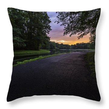 Jogging Throw Pillows