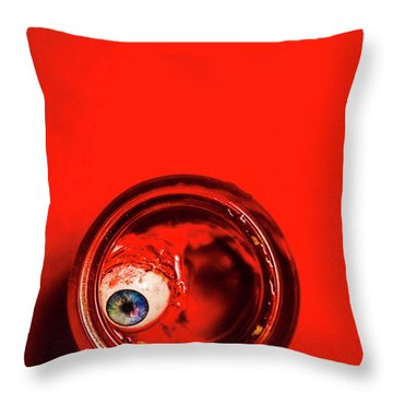 The Human Experiment Throw Pillow