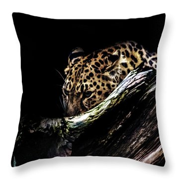 The Hunt Throw Pillow by Martin Newman