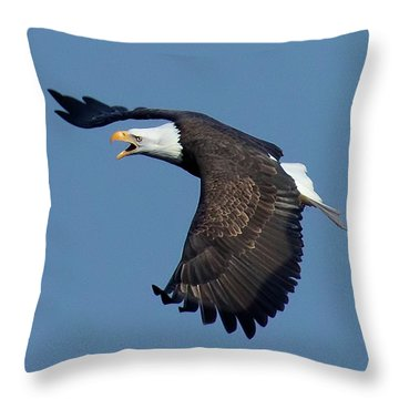 The Hunt Throw Pillow