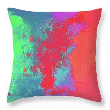 The Hustle II Throw Pillow