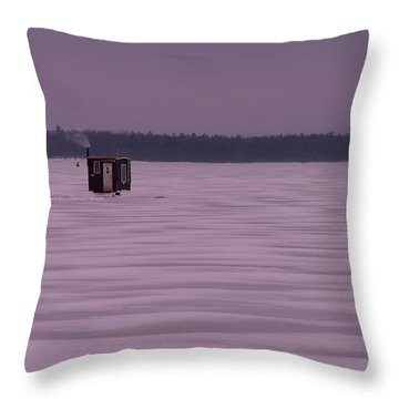 The Hut II Throw Pillow