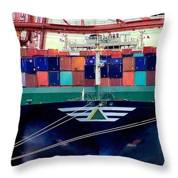 The Hyundai Faith Seattle Washington Throw Pillow