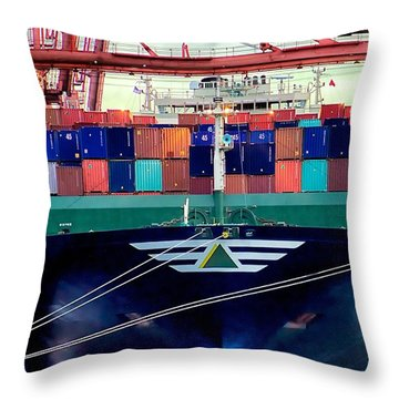 The Hyundai Faith Seattle Washington Throw Pillow