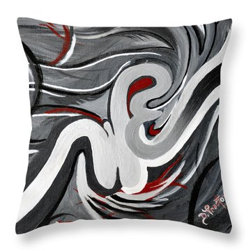 The I That Is We - Soul Of Diversity Throw Pillow by Donna Proctor