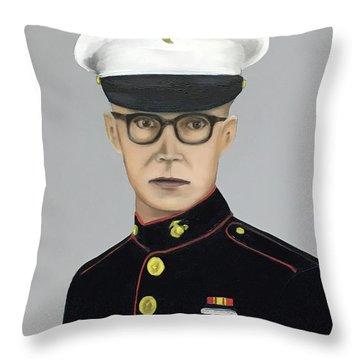 The Idafab Kid Throw Pillow