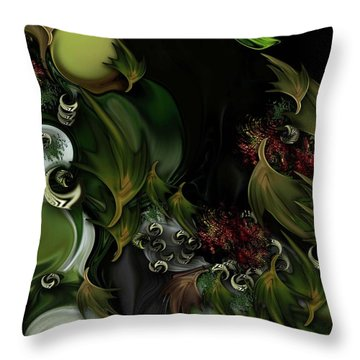 The Idea Of Life Throw Pillow