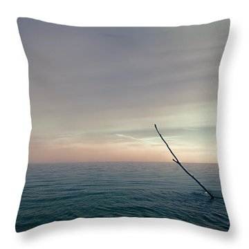 The Ideal Space Throw Pillow by Scott Norris