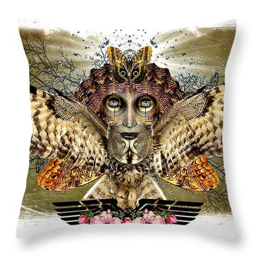 The Illusion Was Exposed Throw Pillow