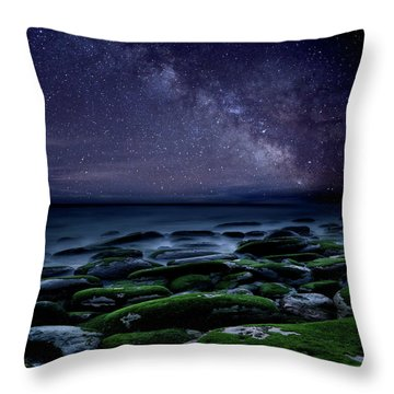 The Immensity Of Time Throw Pillow by Jorge Maia