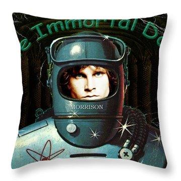 The Immortal Door Throw Pillow