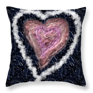 The Imperfection Of A Perfect Love Throw Pillow