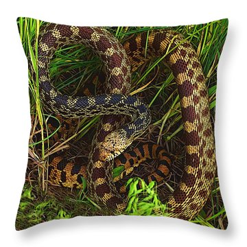 The Impersonator Throw Pillow