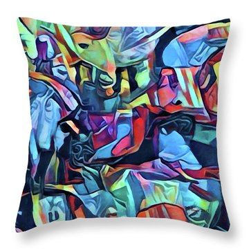 The Impossible Dream Throw Pillow